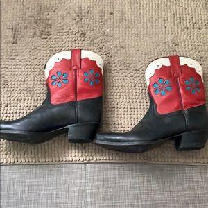Tony lama cowboy boots size 7.5